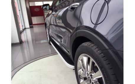 Подножки Range Rover Evoque