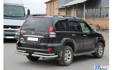 Защита задняя Toyota Land Cruiser Prado 120
