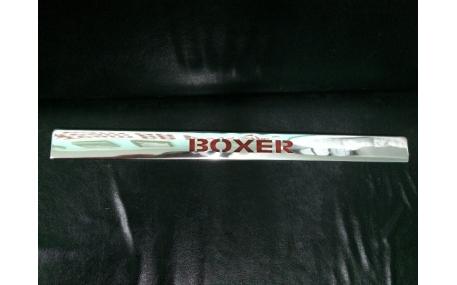 Хром накладки Peugeot Boxer