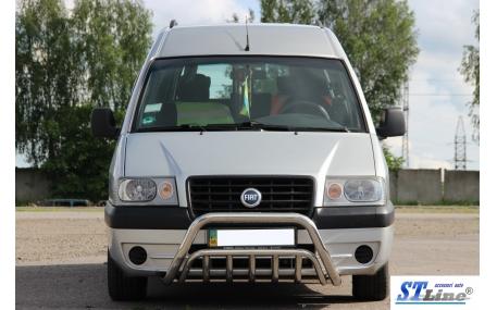 Защита передняя Fiat Scudo