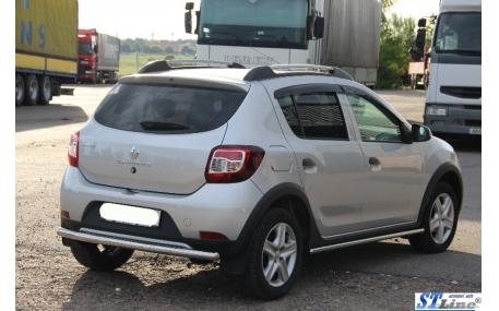 Защита задняя Renault Sandero Stepway