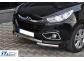 Защита передняя Hyundai ix35