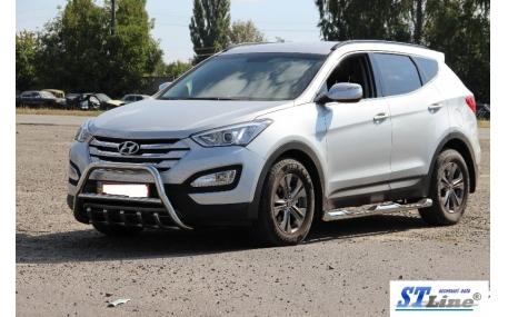 Защита передняя Hyundai Santa Fe