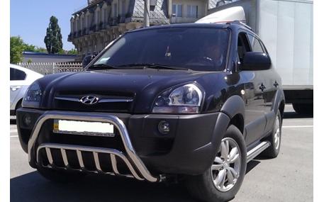 Защита передняя Hyundai Tucson