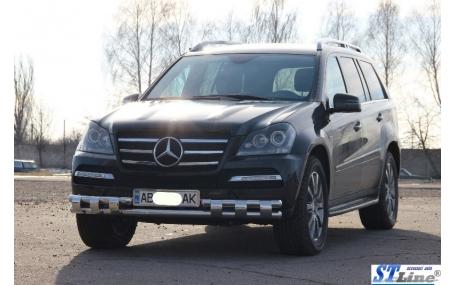 Защита передняя Mercedes GL-class X164