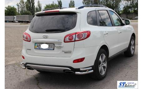 Защита задняя Hyundai Santa Fe