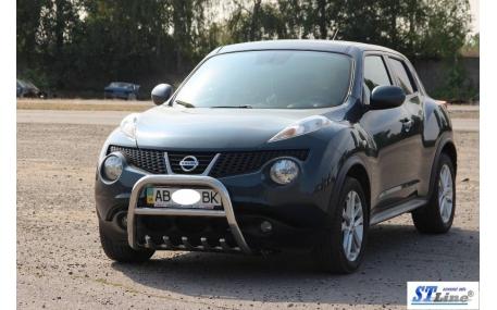 Защита передняя Nissan Juke