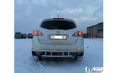 Защита задняя Nissan Murano