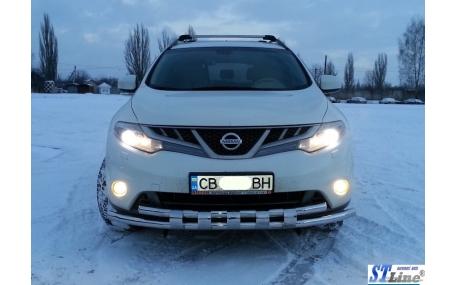 Защита передняя Nissan Murano