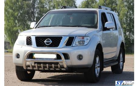 Защита передняя Nissan