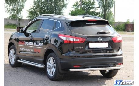 Защита задняя Nissan Qashqai J11