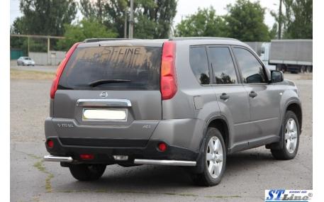 Защита задняя Nissan X-trail