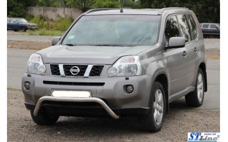 Защита передняя Nissan X-trail