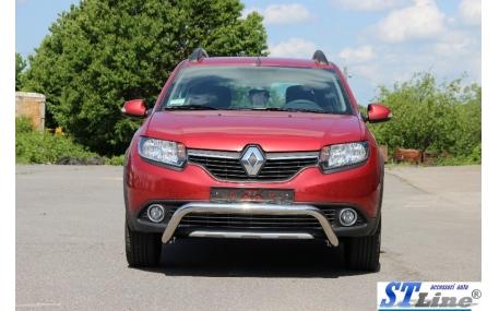 Защита передняя Renault Sandero