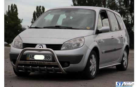 Защита передняя Renault Scenic