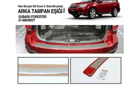 Накладка на задний бампер Subaru Forester