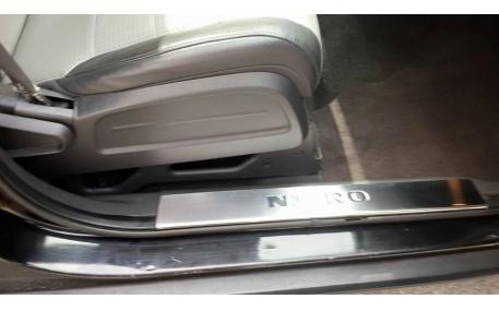Накладки на пороги Dodge Nitro