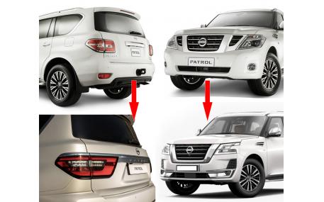 Комплект обвеса Nissan Patrol Y62