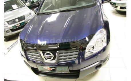 Дефлектор капота Nissan Qashqai J10