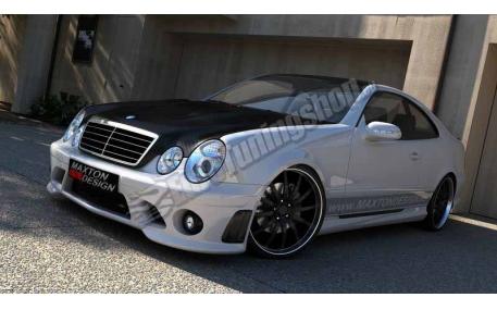 Бампер передний Mercedes CLK-class W208