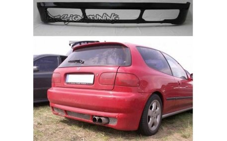 Накладка задняя Honda Civic