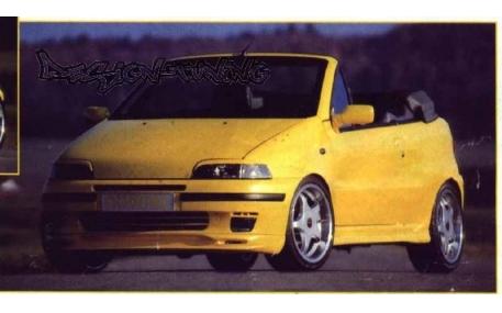Накладка передняя Fiat Punto