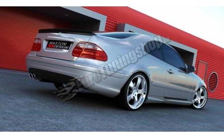 Бампер задний Mercedes CLK-class W208