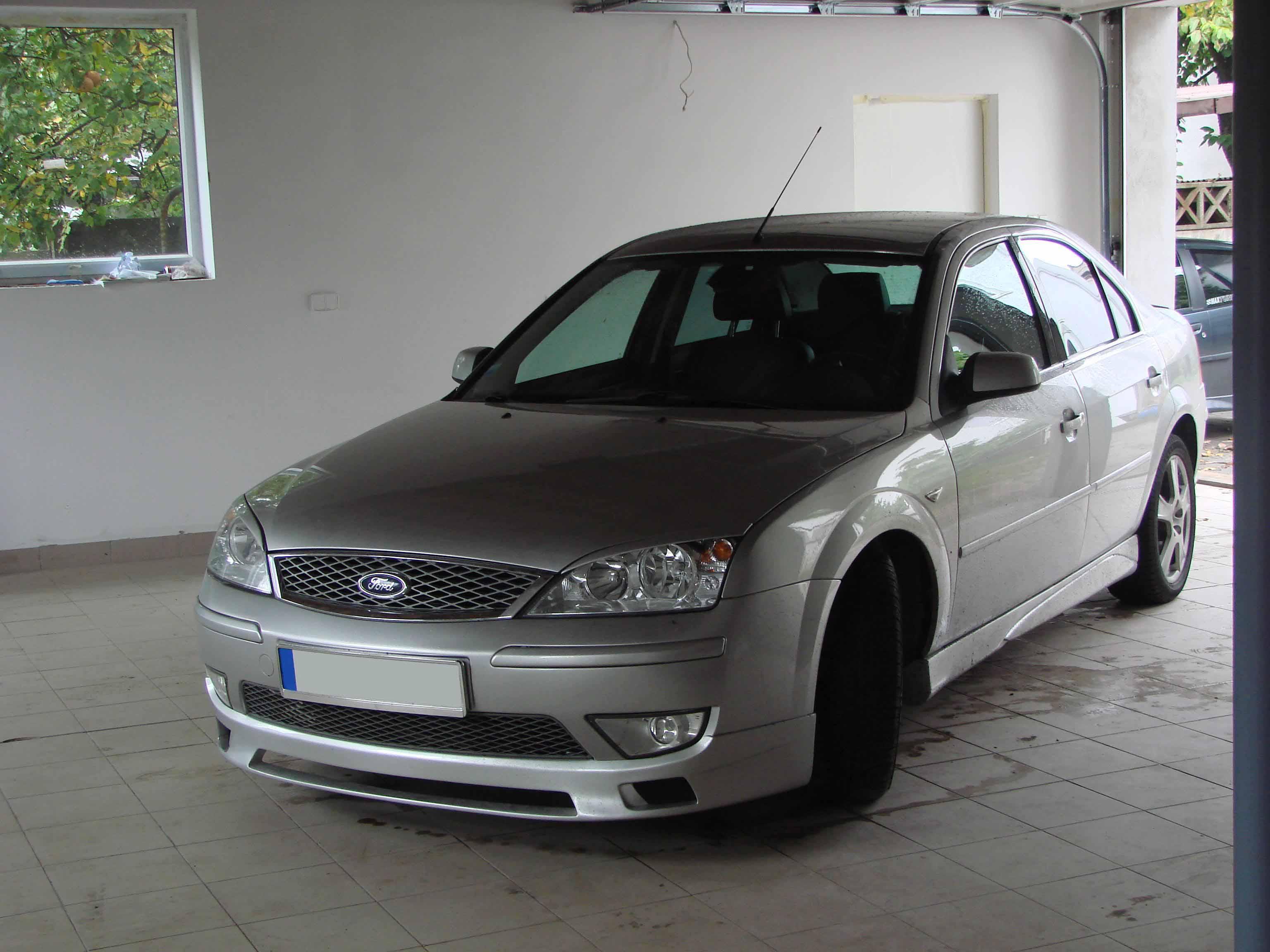 Юбка переднего бампера ford mondeo 3 10 фотография