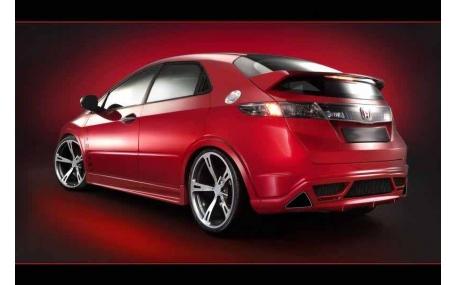 Накладка задняя Honda Civic 5D