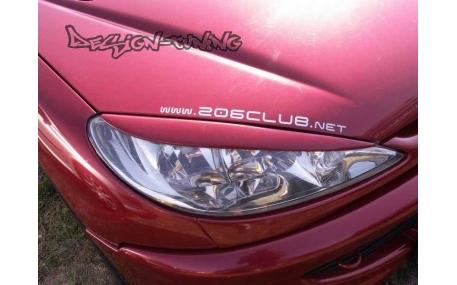 Ресницы Peugeot 206