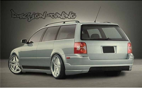 Накладка задняя Volkswagen Passat B5