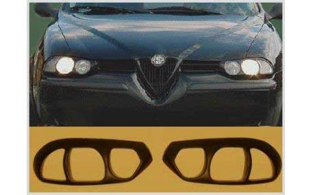 Ресницы Alfa Romeo 156
