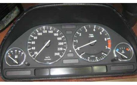 Кольца в щиток приборов BMW E32/E34