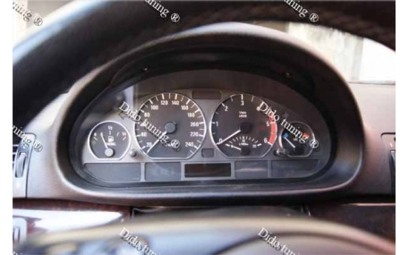 Кольца в щиток приборов BMW E46
