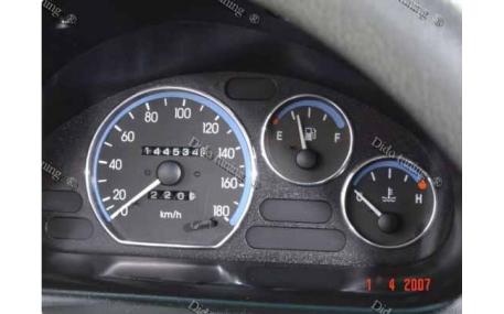 Кольца в щиток приборов Daewoo Matiz