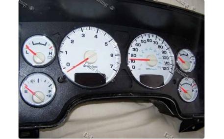 Кольца в щиток приборов Dodge Ram