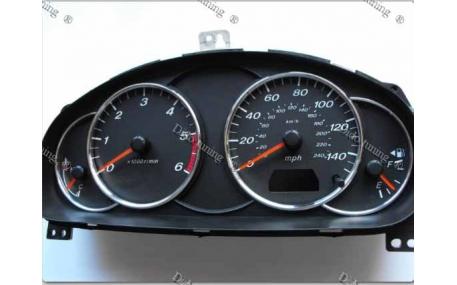 Кольца в щиток приборов Mazda 6