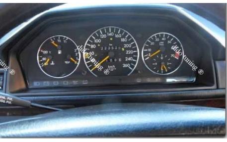 Кольца в щиток приборов Mercedes E-class W124