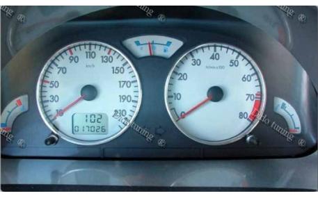 Кольца в щиток приборов Peugeot 106