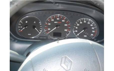 Кольца в щиток приборов Renault Scenic