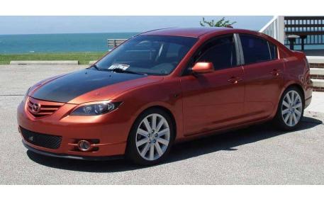 Ресницы Mazda 3