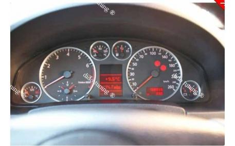 Кольца в щиток приборов Audi