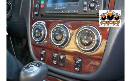 Кольца в щиток приборов Mercedes ML-class W163