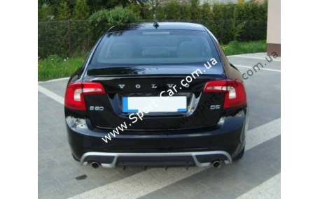 Накладка задняя Volvo S60/V60