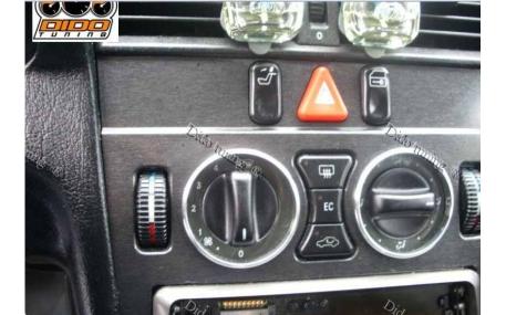 Кольца в щиток приборов Mercedes E-class W210