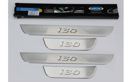Накладки на пороги Hyundai I30