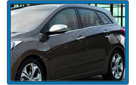 Хром накладки Hyundai I30