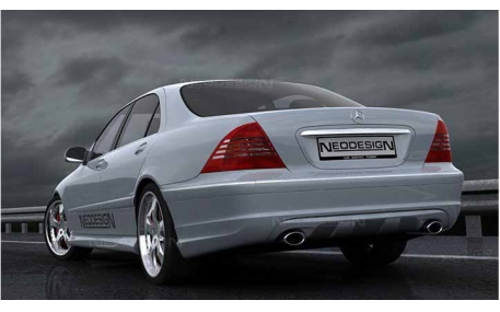 Бампер задний Mercedes S-class W220