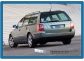 Накладка на задний бампер Volkswagen Passat B5