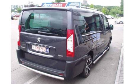 Защита задняя Fiat Scudo